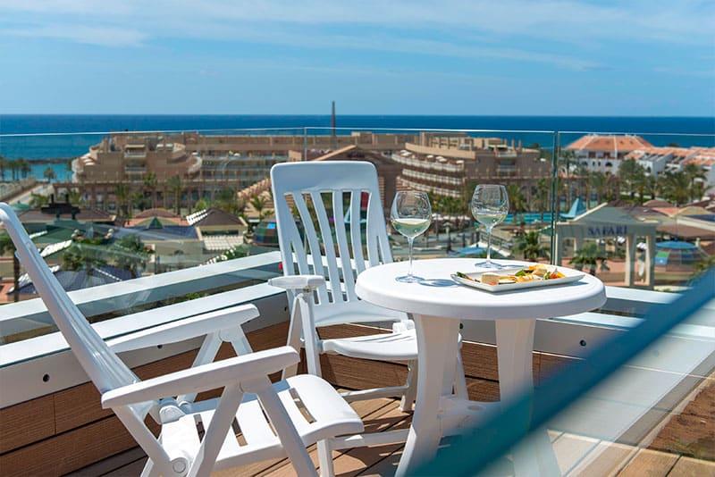 hotel vulcano balcony view