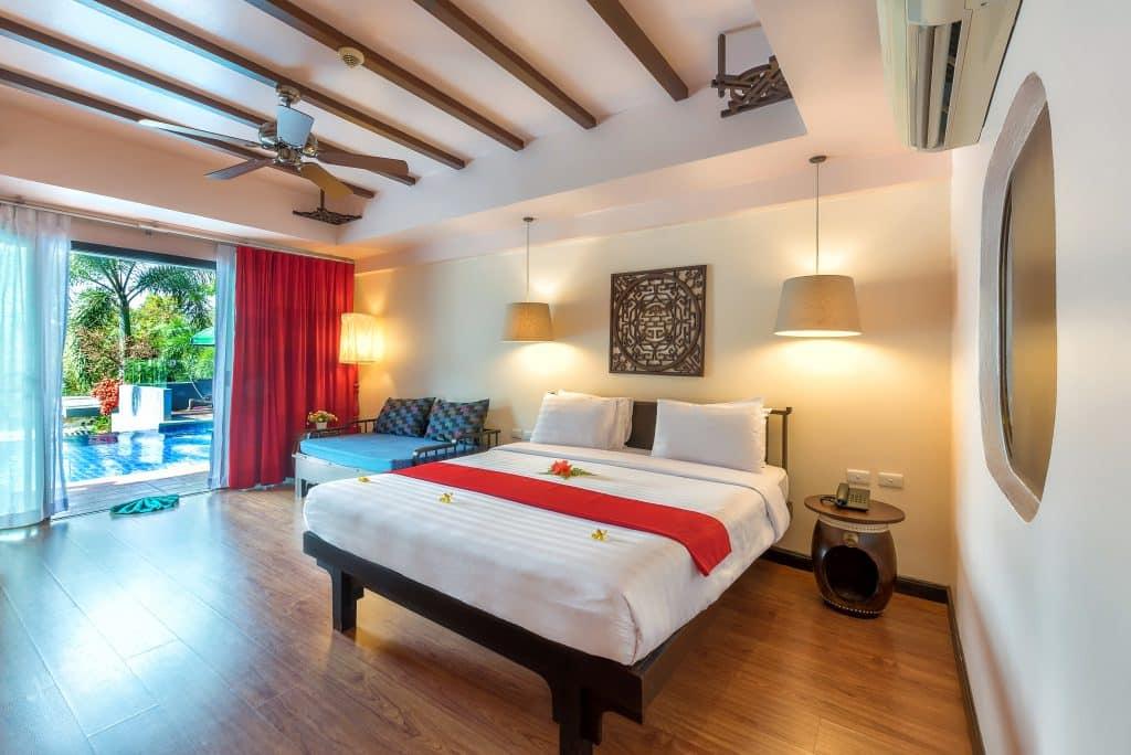 krabi cha da resort hotel bed