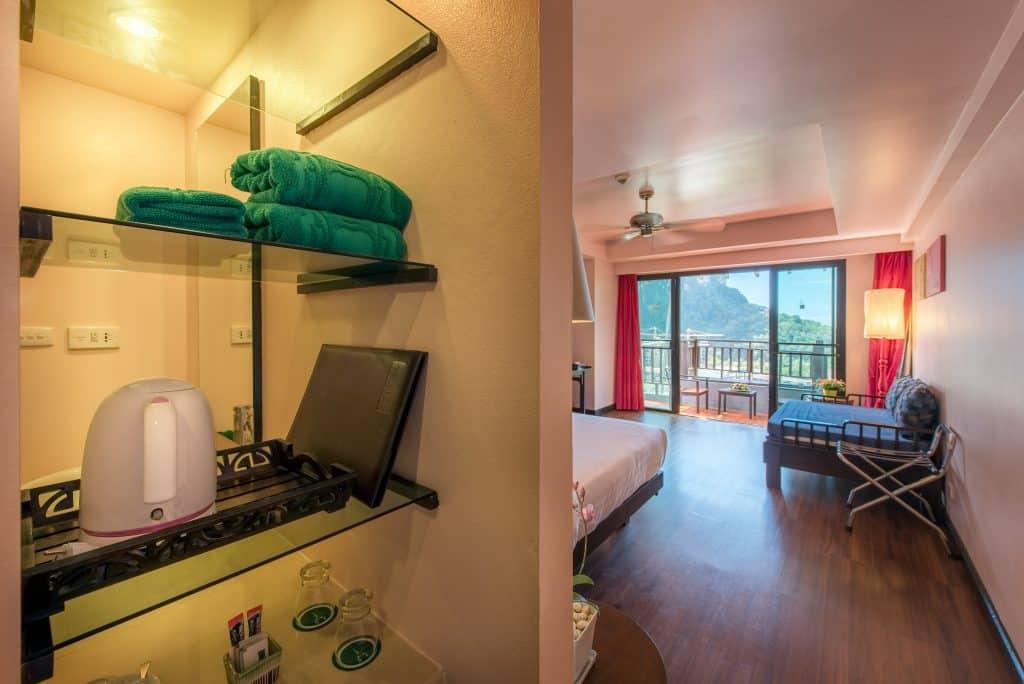 hotel room view krabi chada