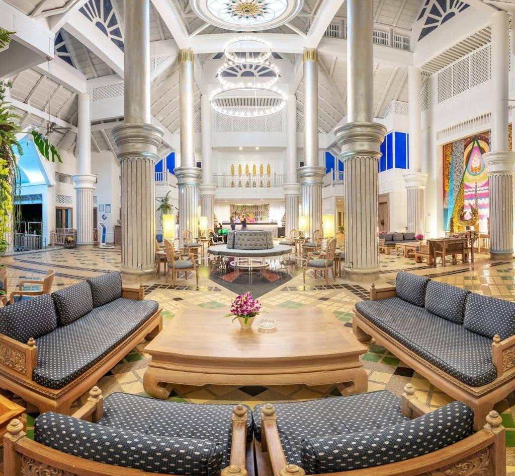 Cha Da Thai village resort lobby