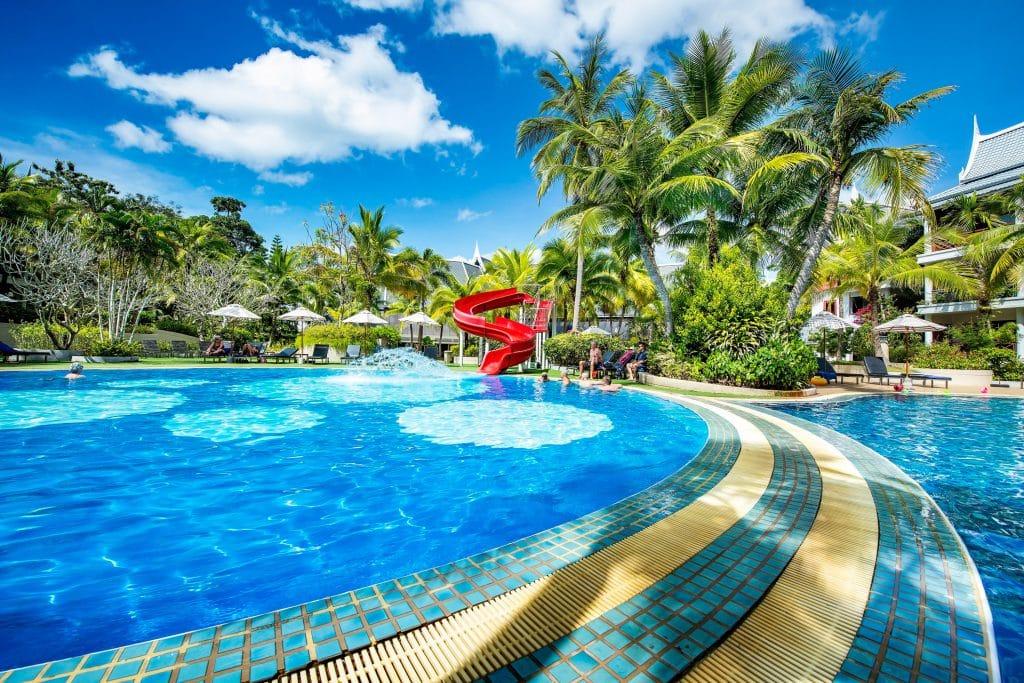 swimming pool thai village resort